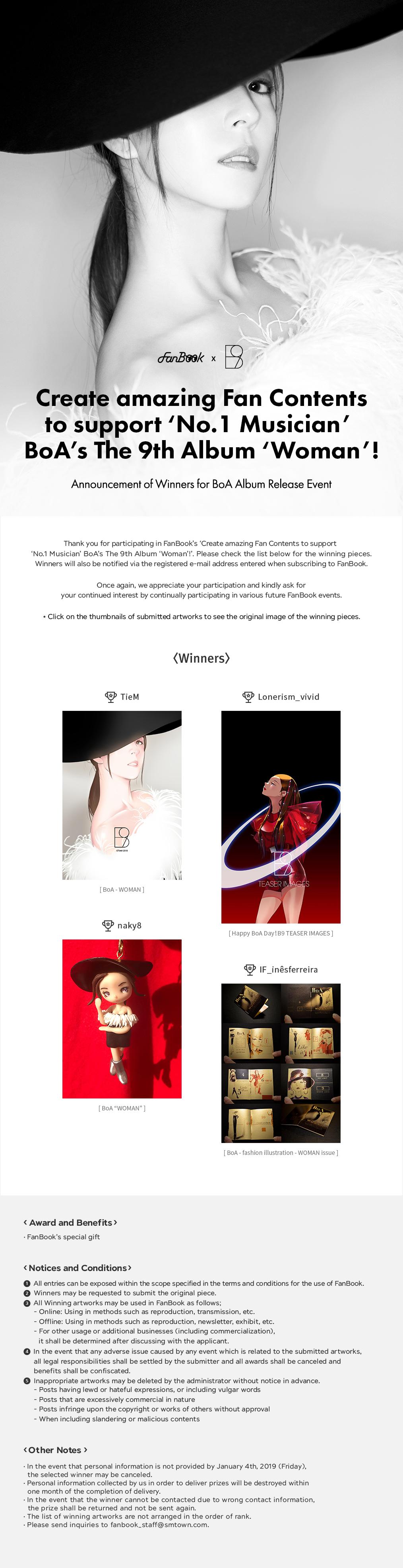FanBook X BoA Fan Art Event